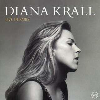 CD Diana Krall Live in Paris