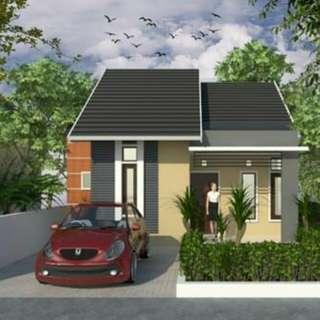 Dijual Rumah Indent on progress