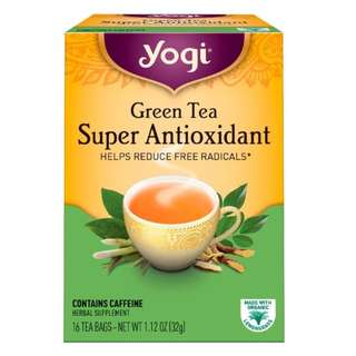Yogi Tea, Green Tea Super Antioxidant, 16 Tea Bags, 1.12 oz (32 g)