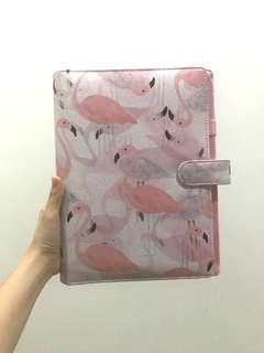 Binder flamingo pink 26ring B5