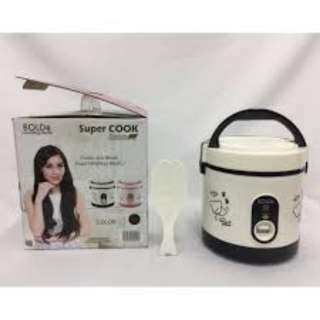 Rice Cooker Bolde Super cook super murah