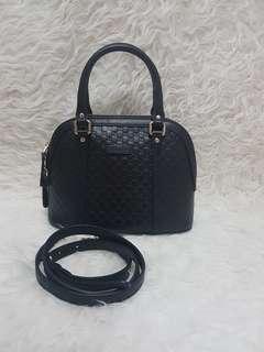 Authentic PL gucci alma bb black