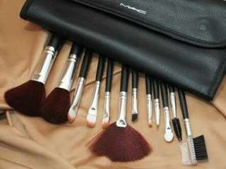 Brush Set Mac isi 12 Murah + Dompet