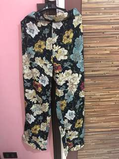 Brand New Floral Trousers