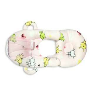 Baby Feeding Pillow Light Pink with Design