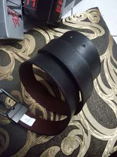 Genuine leather REVERSIBLE