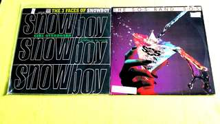 SNOWBOY . the 3 faces of snowboy ● THE S.O.S. BAND . s.o.s. ( buy 1 get 1 free )  Vinyl record