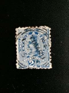 新西蘭郵票 早期维多利亞女皇像已銷郵票 A012