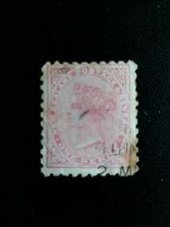 新西蘭郵票 早期维多利亞女皇像已銷郵票 A013