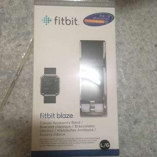Fitbit blaze錶帶 classic accessory band