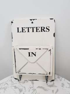 Vintage Letter Holder