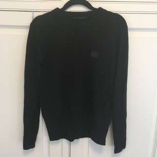 Acne Studios face black sweater