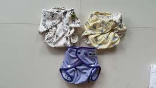 PL Bumwear one size cloth diaper
