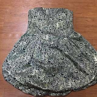 🚚 大尺碼全新平口洋裝/婚禮小洋裝