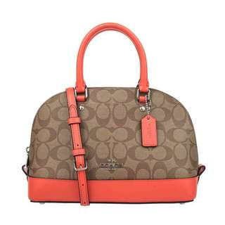 AUTHENTIC COACH  SEIRRA MINI IN SIGNATURE (F58295)