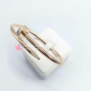 Cartier Juste Un Clou Nail 18k Rose Gold