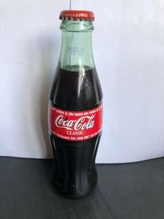 Coca-Cola classic NHL 50週年紀念玻璃瓶