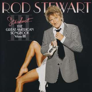 CD Rod Stewart – Stardust... The Great American Songbook Volume III mismatched  CD
