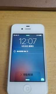 Apple Iphone 4S 32GB 白色