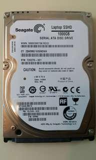 """Seagate 2.5"""" Laptop SSHD 1000G"""
