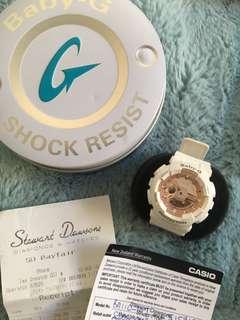 Baby G Rose Gold Watch