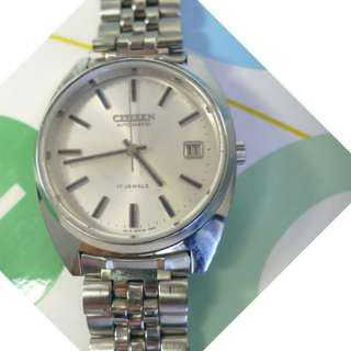 CITIZEN 17-Jewels Automatic in superb condition !