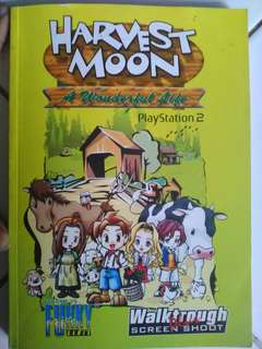Harvest Moon book Ps2