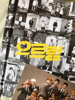 EXO Growl 專輯+大卡