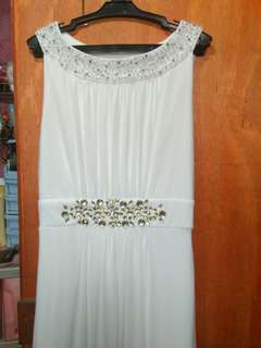 White Long Gown ( Wedding and Debut ) 😊