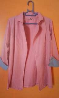 Blazer soft pink