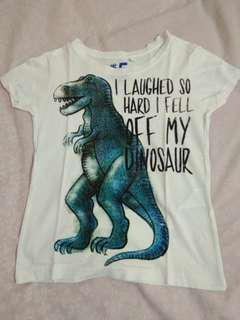 Kaos dino cotton on kids