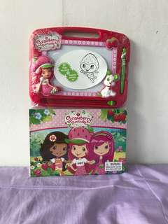 Strawberry Shortcake Storybook & Drawing Kit