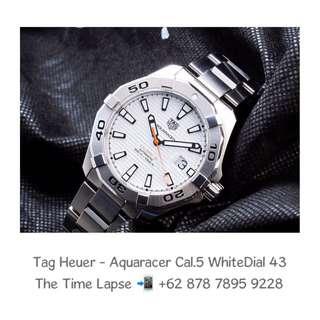 Tag Heuer - Aquaracer Cal.5 White Dial 43