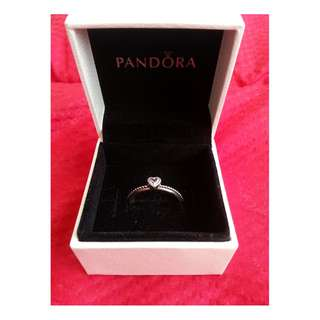 Pandora Light Pink Love Heart Ring