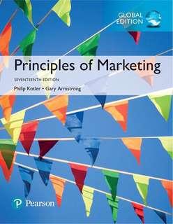 eBook: Principles of Marketing (17th Edition)