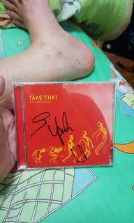 Take that progressed Autographed signed!!