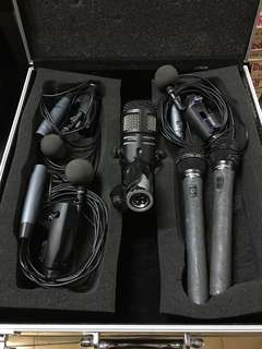 Drum instrument Mic set