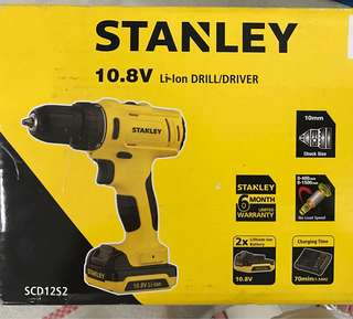 Stanley Rechargeable Drill
