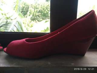 Red shoes (payless)