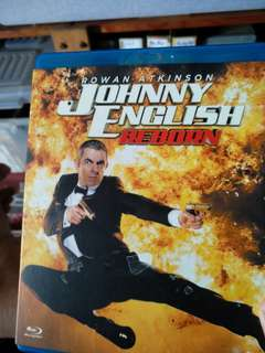 Blu ray, Johnny English Reborn