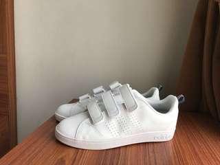 Adidas Neo Advantage Velcro Clean White