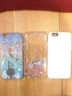 iPhone 6/6s Case 全白色 Alice 愛麗絲 小魚仙 ariel