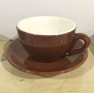 Latte Coffee Cup Brown