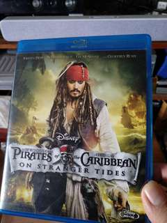 Blu ray, Pirates of the Caribbean on stranger tides