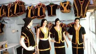 Kadazan Dusun Tradition costume