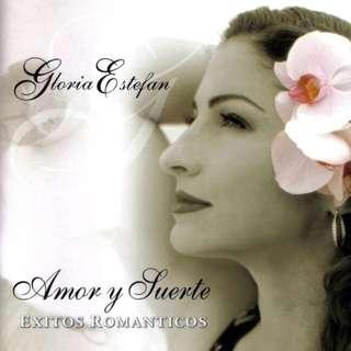 CD USA Pressing Gloria Estefan – Amor Y Suerte (Éxitos Romanticos)