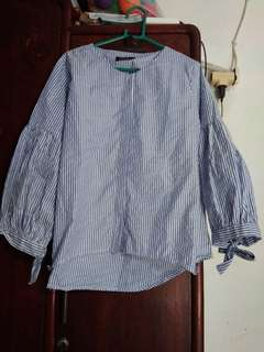 stripe blouse pita