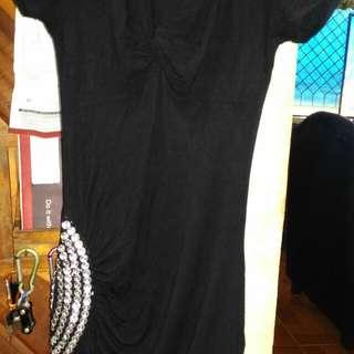 Mini Black Dress Party