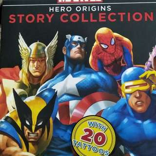 Marvel Heros story collection