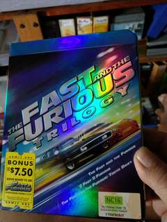 Blu ray, The Fast & the Furious Trilogy